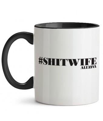 Cană #shitwife + Sticker gratuit