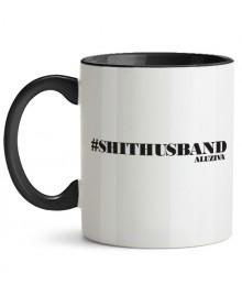 Cană #shithusband + Sticker gratuit
