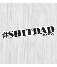 Sticker #shitdad