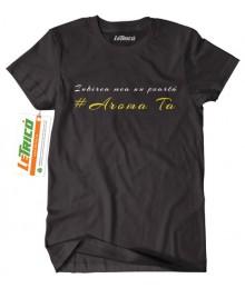 Tricou Aroma ta - negativ