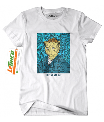 Tricou Vincent Van Cat