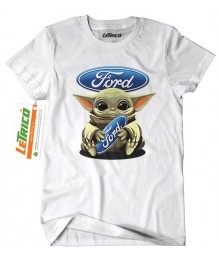 Baby Yoda Ford + Sticker