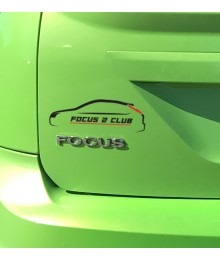 Sticker Focus 2 Club