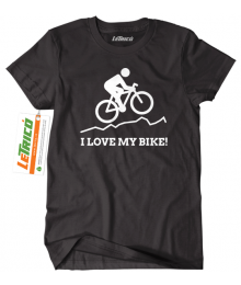 Tricou I Love My Bike