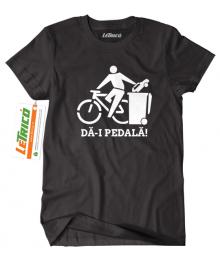 Tricou Da-i pedala