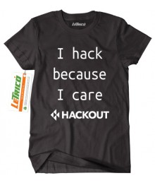 Tricou I Hack Because I Care