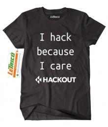 Tricou I Hack Because I Care