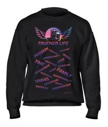 Bluză Trucker Life - Mercedes