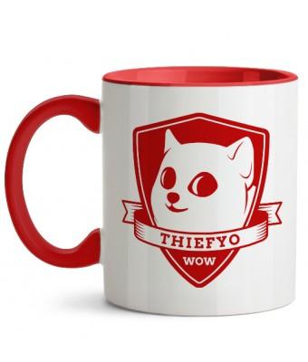 Cană Thiefyo WOW