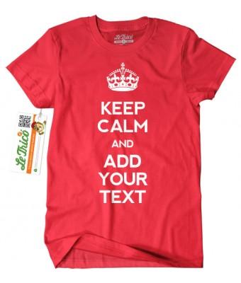 Keep calm + textul tau
