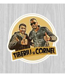 Sticker Tiberiu și Cornel
