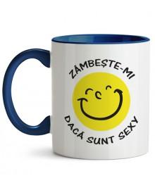 Cană Zâmbește-mi