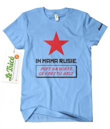 In mama Rusie + Sticker + Poster cu autograf CADOU