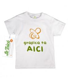 Tricou cu ce vrei tu pentru copii pana la 6 ani