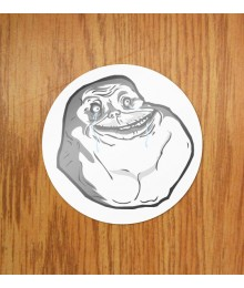 Sticker Forever Alone