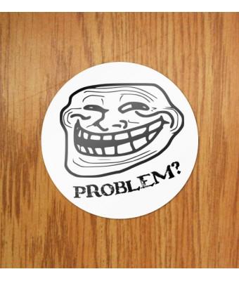 Sticker Trollface