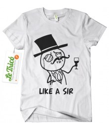 Like a Sir + sticker gratis