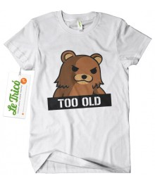 Pedobear Too Old + sticker gratis